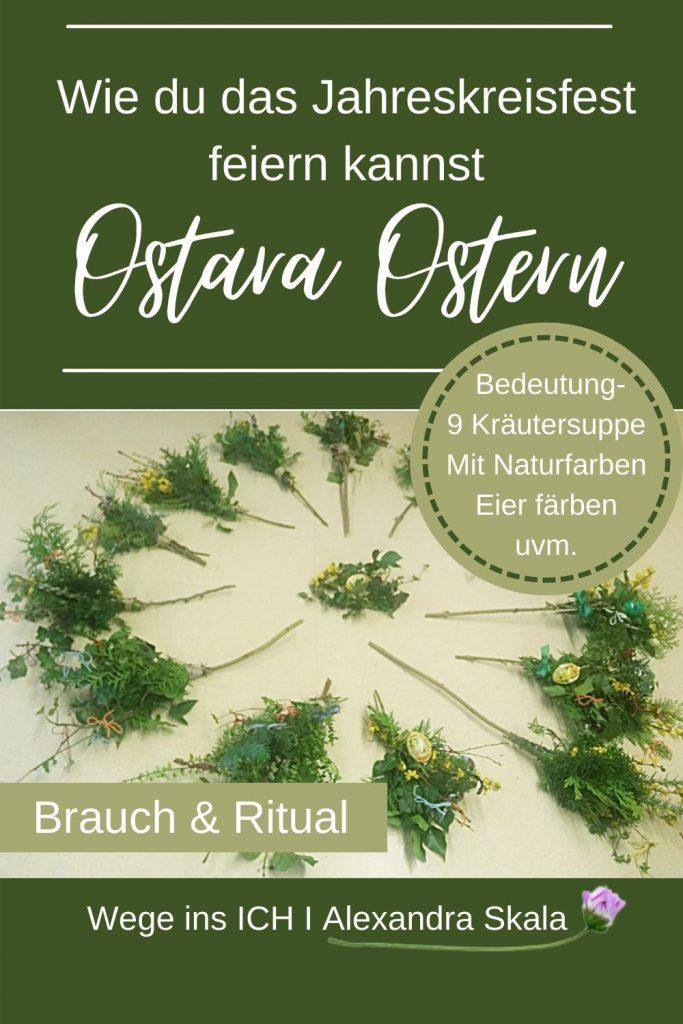 Wie feiert man Ostara-Brauch zu Ostern
