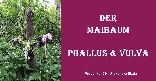 Maibaum selbermachen-Priesterin-Grüner Mann