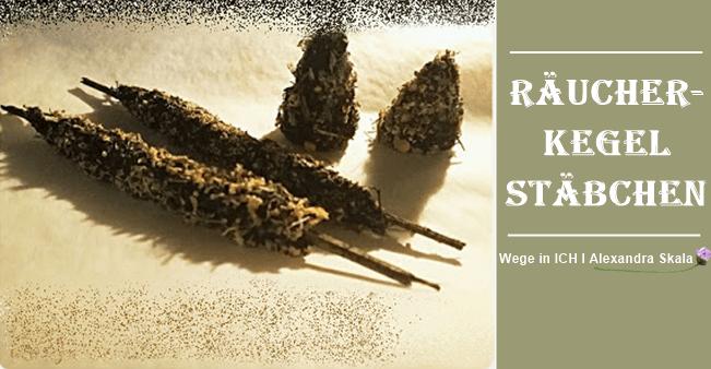 Räucherkegel und Stäbchen selber machen