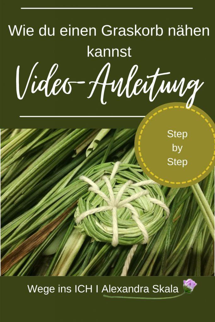 Wie einen Graskorb nähen-Anleitung