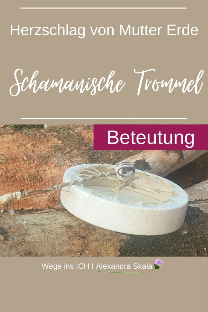 Schamanische Trommel-bedeutung-bemalen-selbermachen