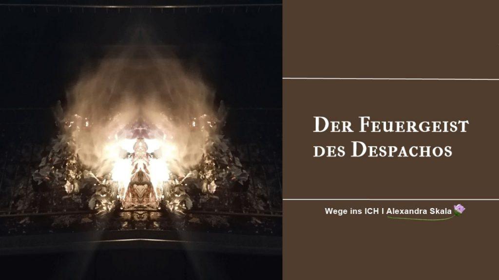 Feuergeist-Feuerzeremonie