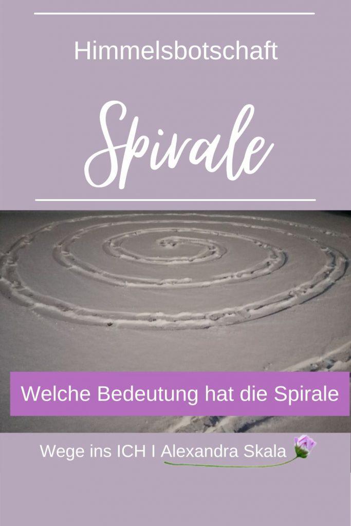 Spirale-Schnee-Schneespirale