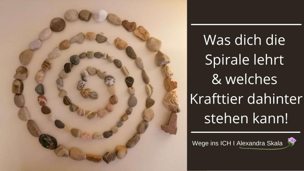 Was bedeutet die Spirale