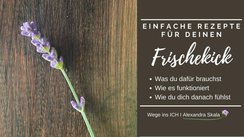 Einfache Rezepte für den Frischekick-Lavendel